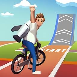 疯狂自行车跳跃