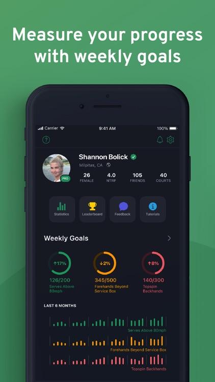 SwingVision: A.I. Tennis App screenshot-4