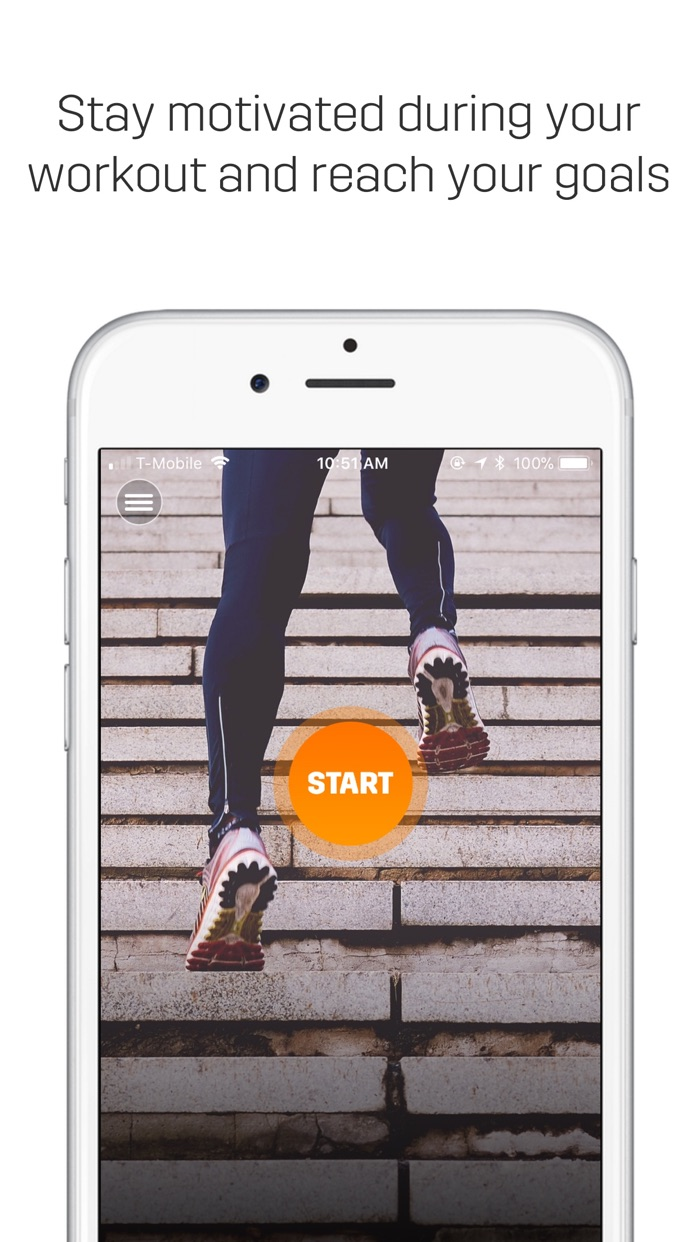 Spring - Music for Fitness Screenshot
