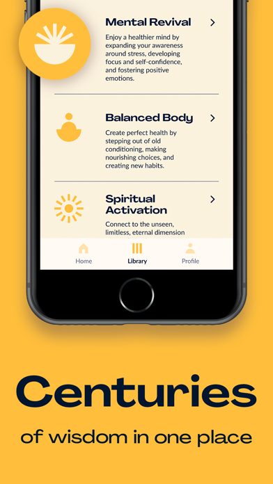 Chopra Meditation & Well-Being Screenshot