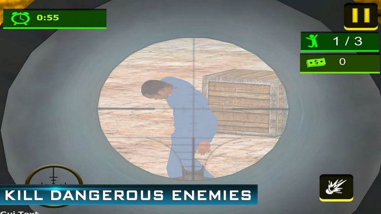 Sniper Prison Shoot Mission