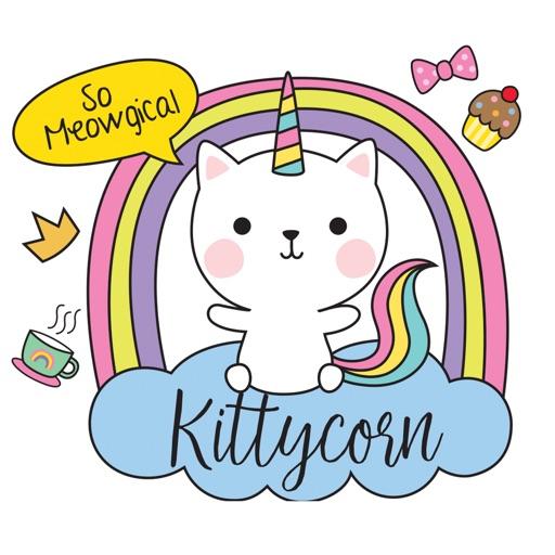 Sweet Kitty Unicorn Stickers