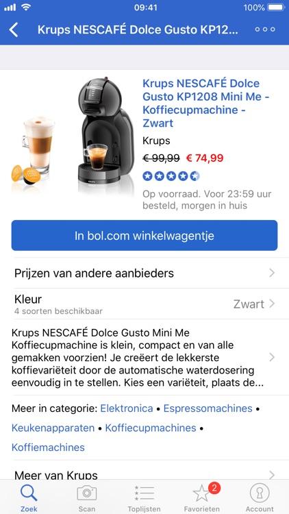 Zoek & Scan-app voor bol.com screenshot-3
