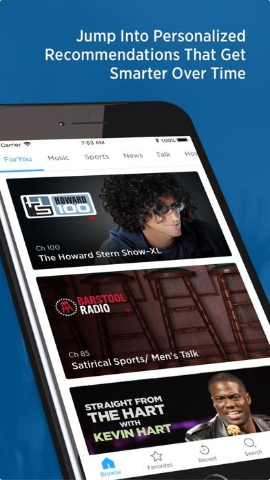 Siriusxm Radio review screenshots