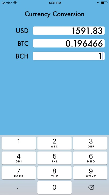 Bitcoin Cash Monitor
