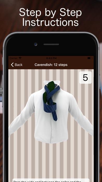 Tie a Necktie 3D Animatedのおすすめ画像4