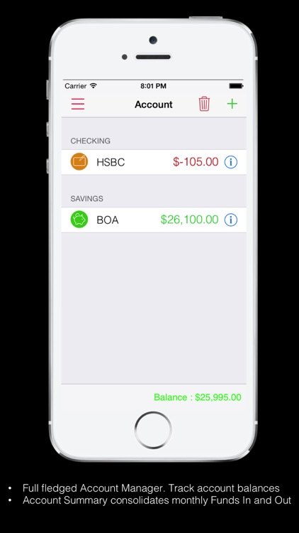 Expense Tracker Home budget screenshot-4