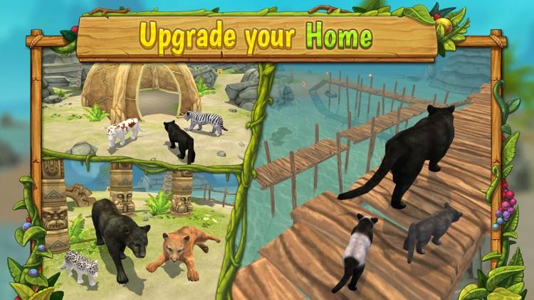 Panther Family Sim : Jungle screenshot-3