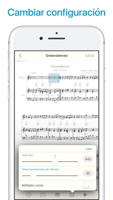 download Lector de partituras y notas apps 4