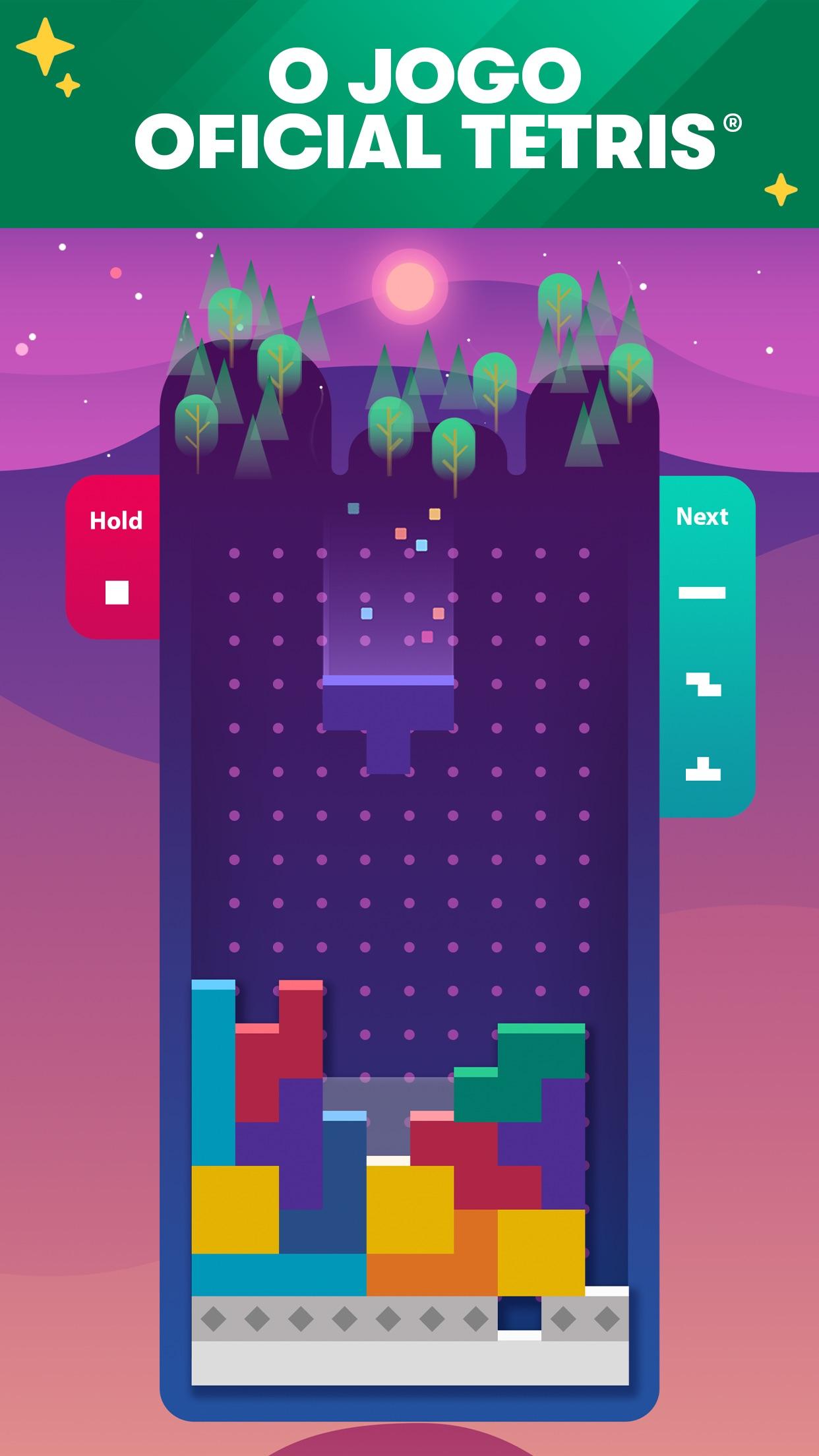 Screenshot do app Tetris®