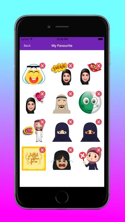 MusliMoji Stickers screenshot-6