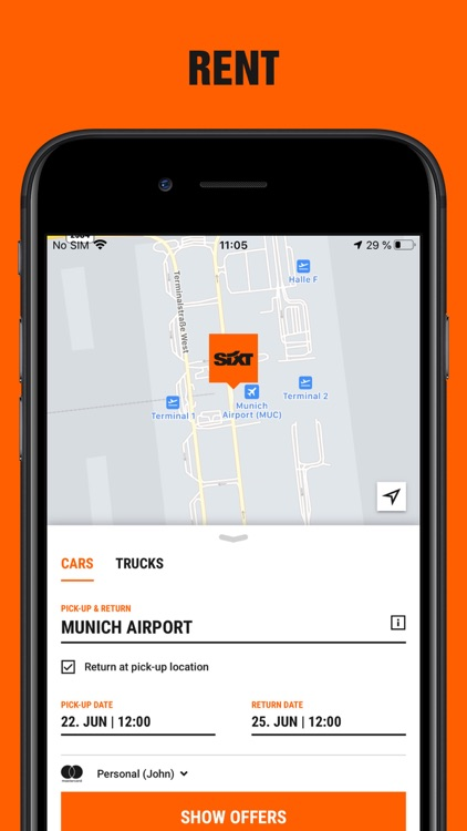 SIXT rent, share, ride & plus