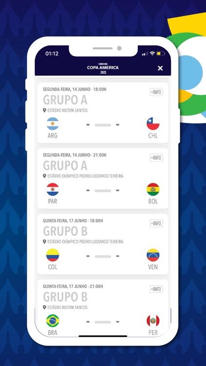 Copa América Oficial screenshot-3