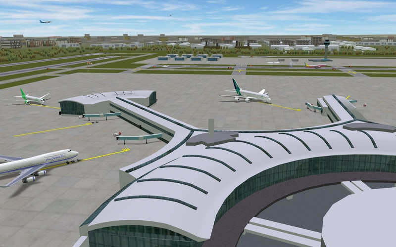 Airport Madness 3D - Volume 2 скриншот программы 3