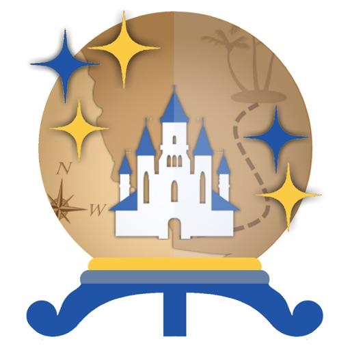 Merlin's Map for Disneyland
