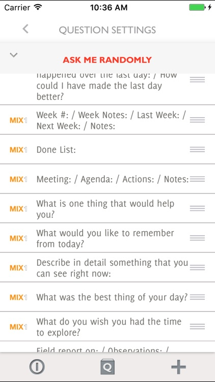 Q&A Diary - Roller Journal screenshot-3