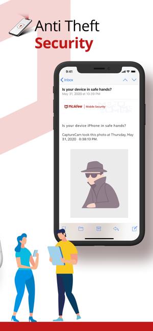 McAfee Mobile Security Screenshot