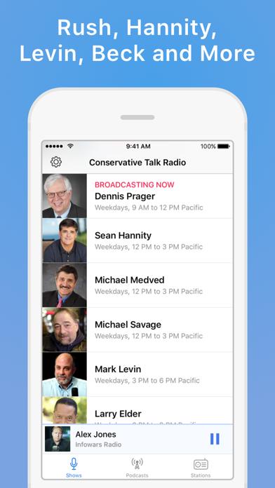 Conservative Talk Rad... screenshot1