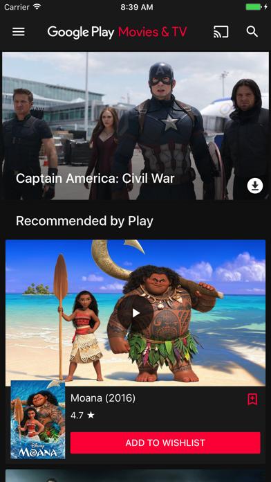 Google Playムービー&TVのおすすめ画像1