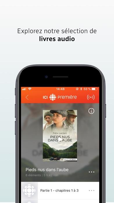 ICI Radio-Canada Première Скриншоты5