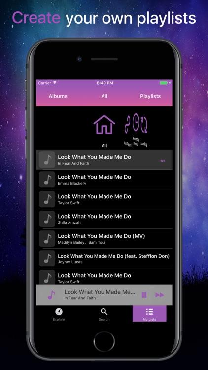 Fm Music Offline Player screenshot-3