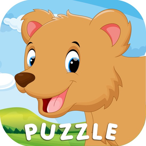 Fruit Slice Animal Word Puzzle