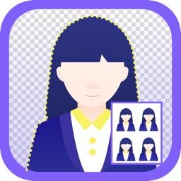 パスポート履歴証明写真——美肌できれいな証明写真