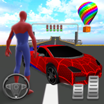 SuperHero Ramp Car Stunt 3D на пк