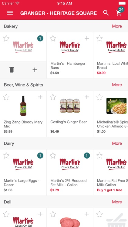 Martin's Groceries To Go screenshot-3