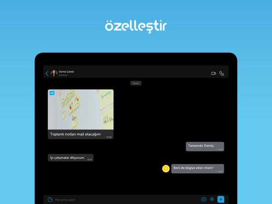 BiP - Mesajlaş, Görüntülü Ara ipad ekran görüntüleri