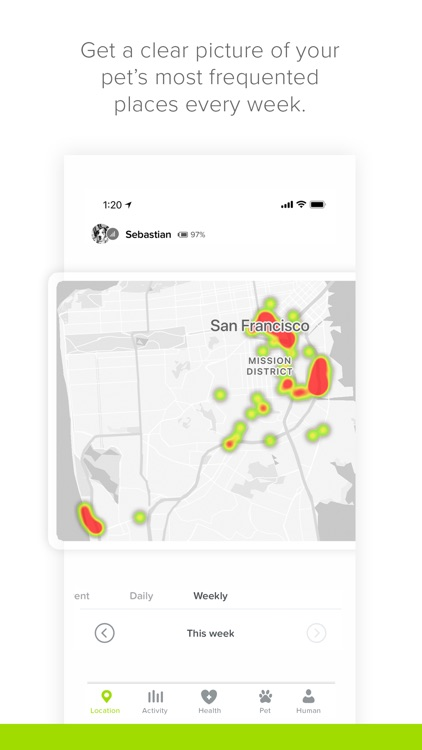 Whistle: Smart Pet Tracker screenshot-3