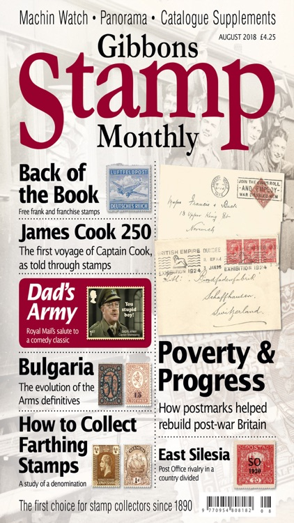 Gibbons Stamp Monthly Magazine screenshot-4