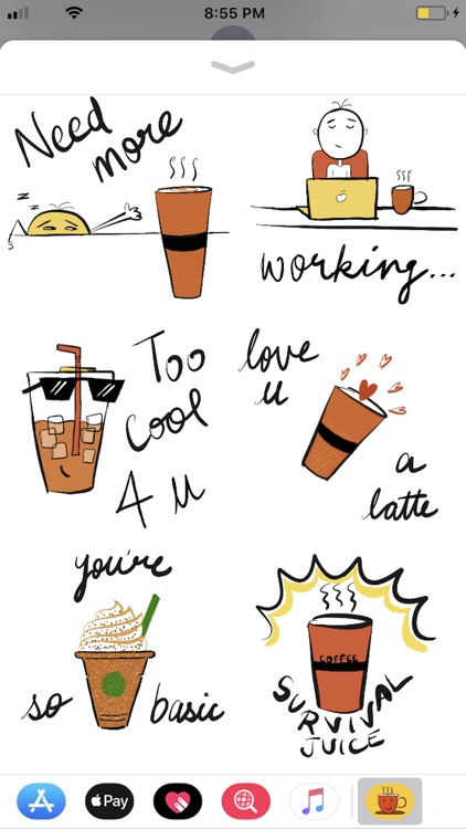 Coffee Mood Stickers