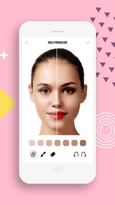 Selfie Mask - Photo Editor Screenshot 2