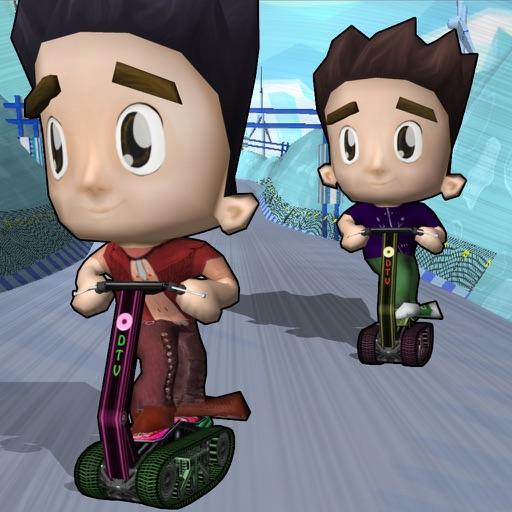 Scooter Bike Stunt Race