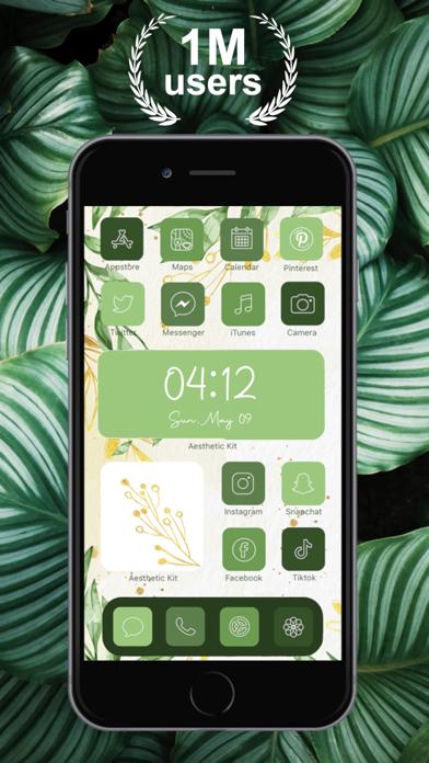 Aesthetic Kit – Icono y temasCaptura de pantalla de3