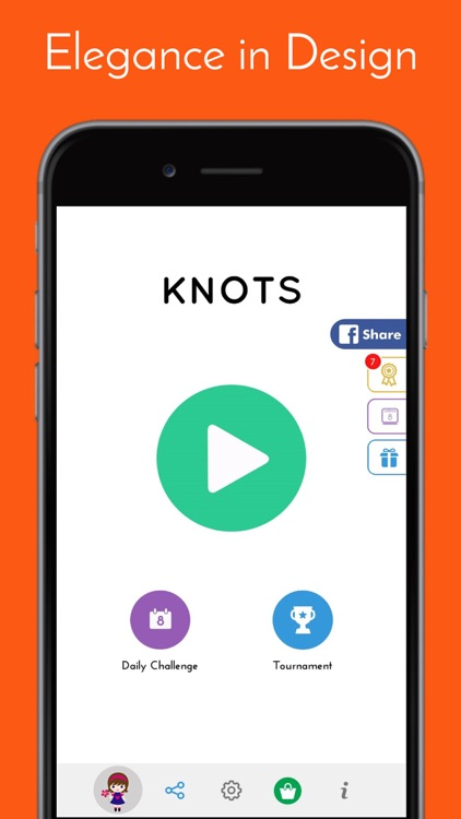 Knots - Puzzle Game screenshot-4