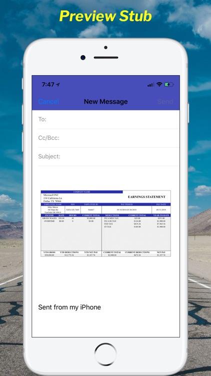 Paystub Calculator Maker Pro screenshot-5