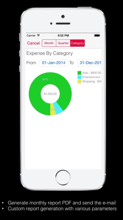 Expense Tracker Pro for Home screenshot-3