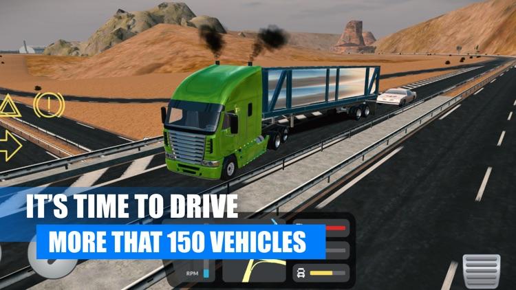 Truck Simulator USA American screenshot-6