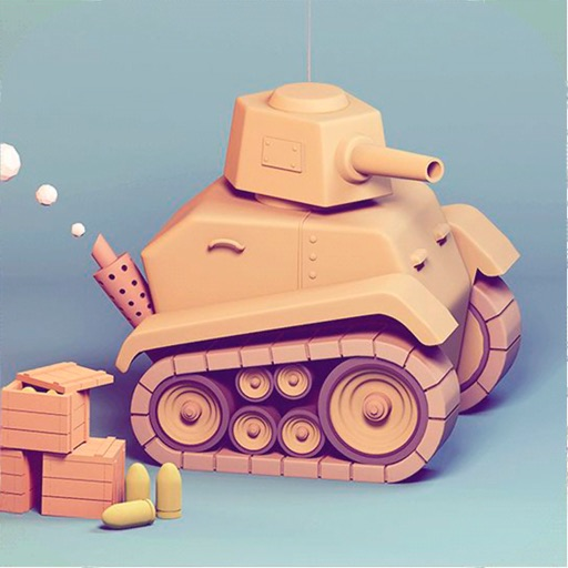 Trail Of Tank Icon