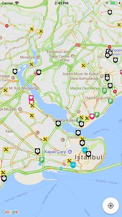 Screenshot for Bisikletli Ulaşım Haritası. in Turkey App Store