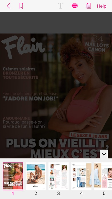 Image of Flair FR Magazine for iPhone