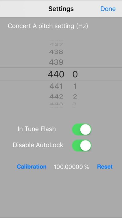Tiara Chromatic Tuner screenshot-3