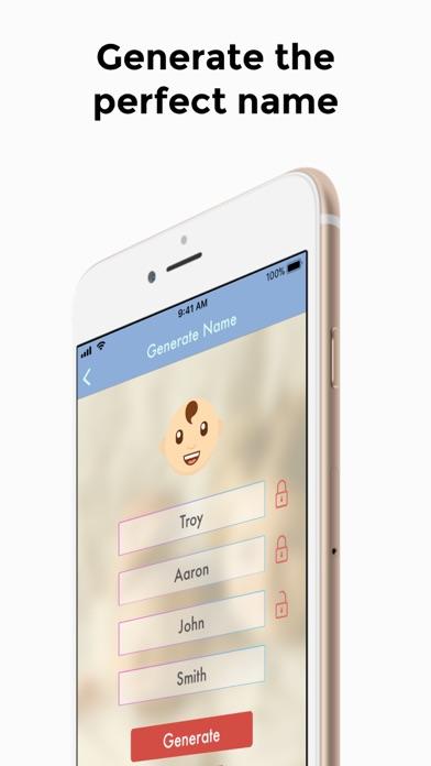 Baby Names Generator screenshot one