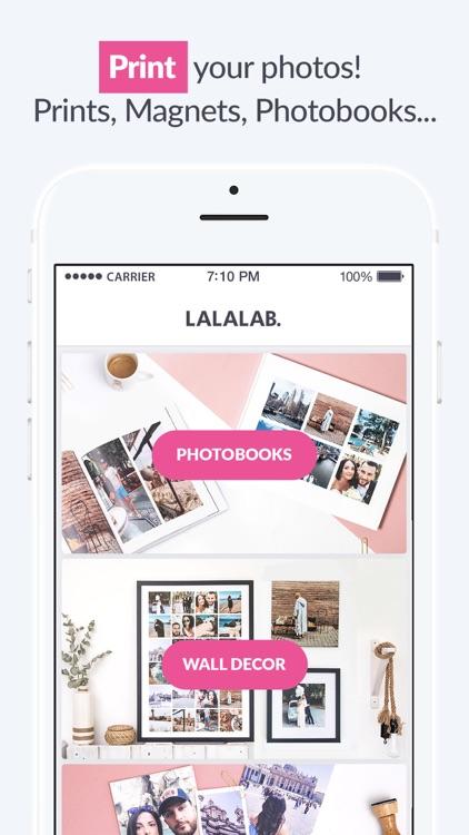 LALALAB. - Photo printing screenshot-0