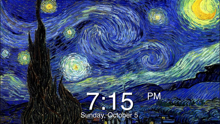 Art Clock + screenshot-0