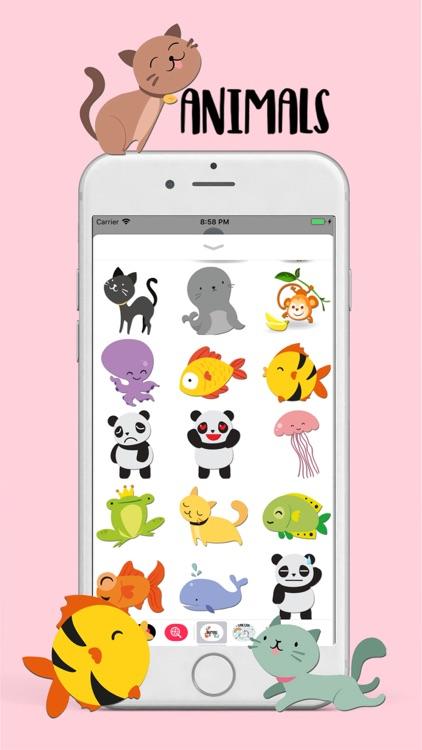Funny Animals Stickers