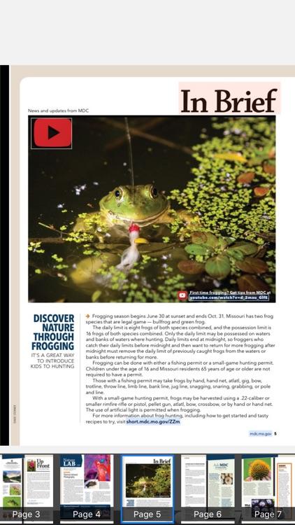 MO Conservationist Magazine screenshot-3