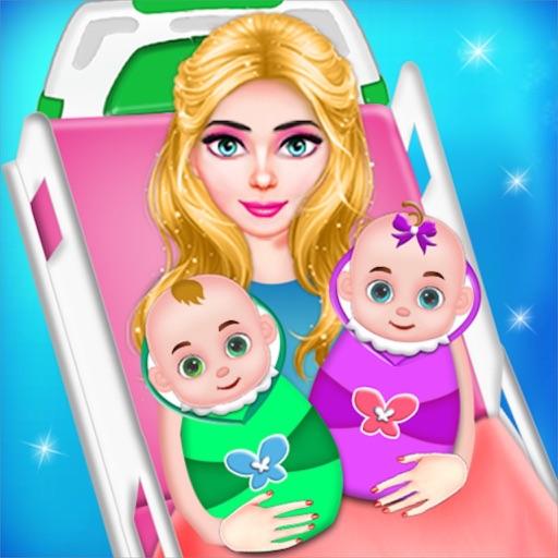 Pregnant Mom BabySitter Game